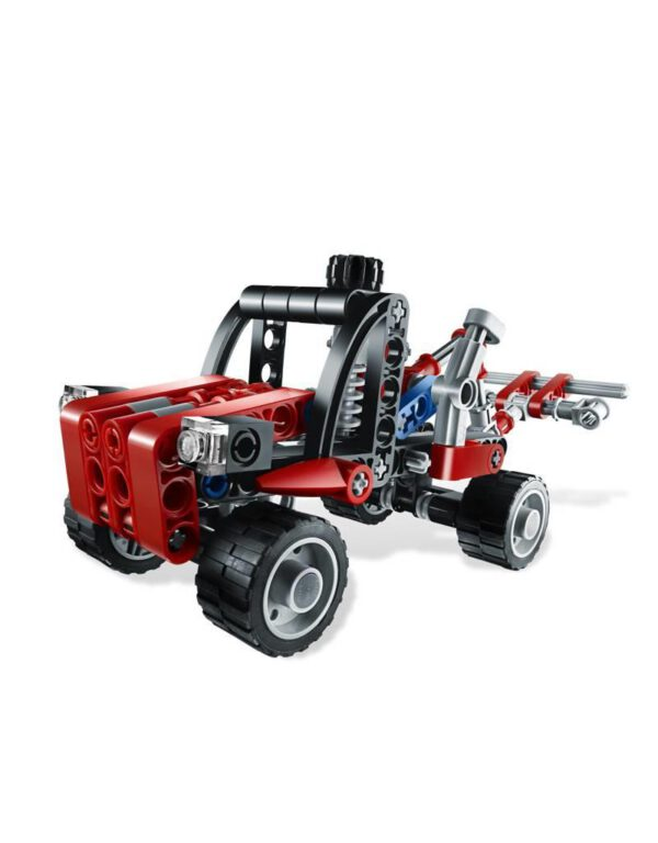 806520Kiepwagen20roodzwart20Technic